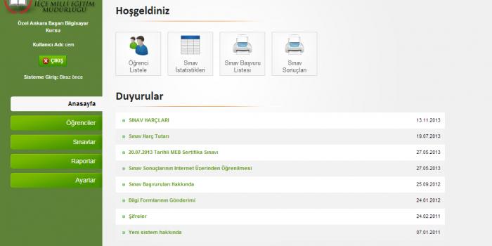 Mebkurs.com Projesi